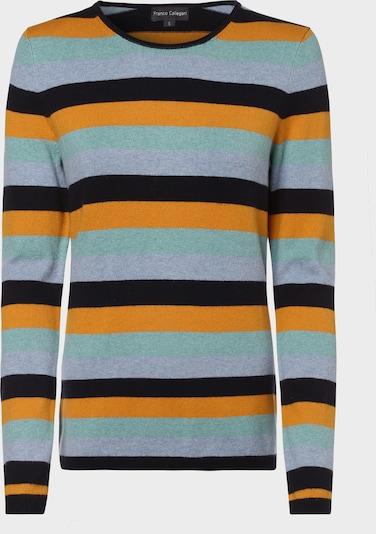 Franco Callegari Pullover in hellblau / pastellgrün / mischfarben / hellorange / schwarz, Produktansicht