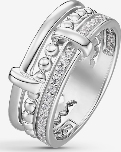 C-Collection Ring in silber, Produktansicht
