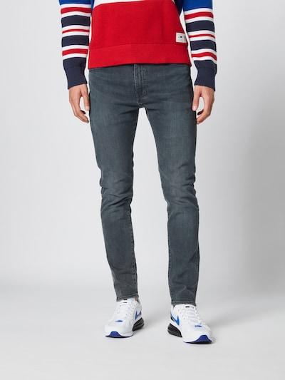 LEVI'S Jeans '510™ SKINNY FIT' in blue denim / grau, Modelansicht