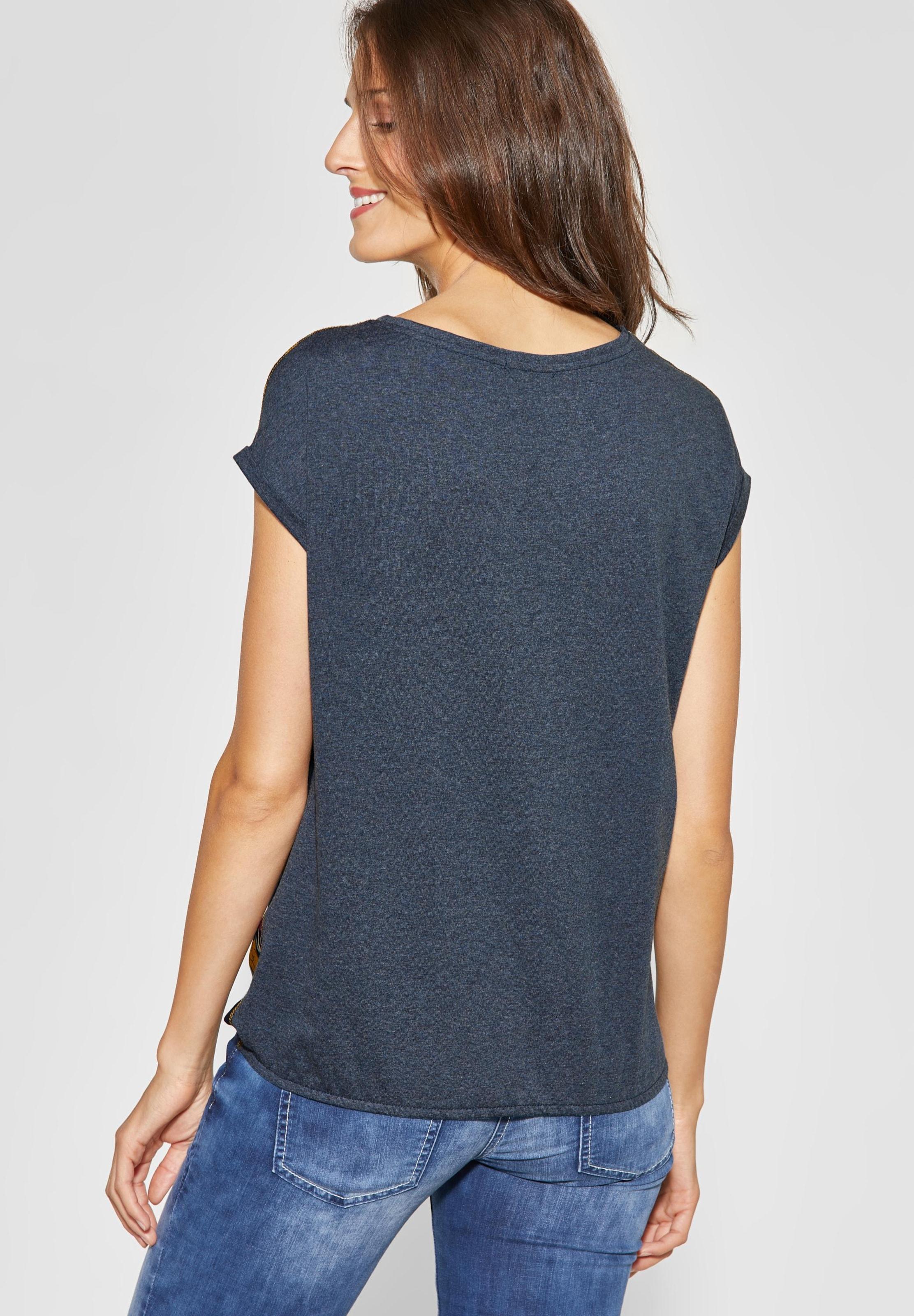 Shirt In In Cecil NachtblauMischfarben Cecil Shirt Cecil NachtblauMischfarben Shirt nOvN0wm8