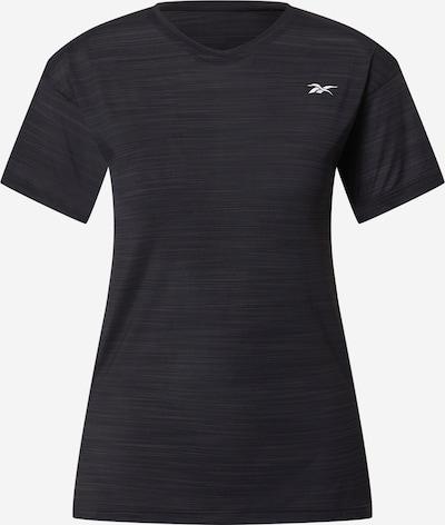 REEBOK Funkčné tričko - sivá / čierna / biela, Produkt
