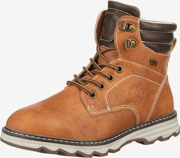INDIGO Boots in Brown