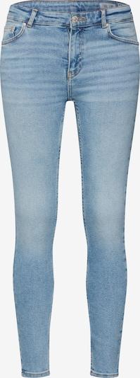 Review Jeans 'SKINNY MID BLUE D-JEANS' in de kleur Blauw denim, Productweergave