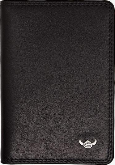 GOLDEN HEAD Kreditkartenetui 'Polo' in schwarz, Produktansicht