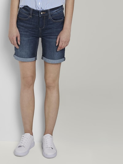 TOM TAILOR Jeans-Shorts in blau, Modelansicht