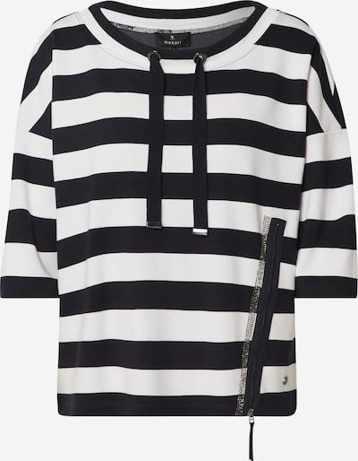 monari Shirt in dunkelblau / weiß, Produktansicht