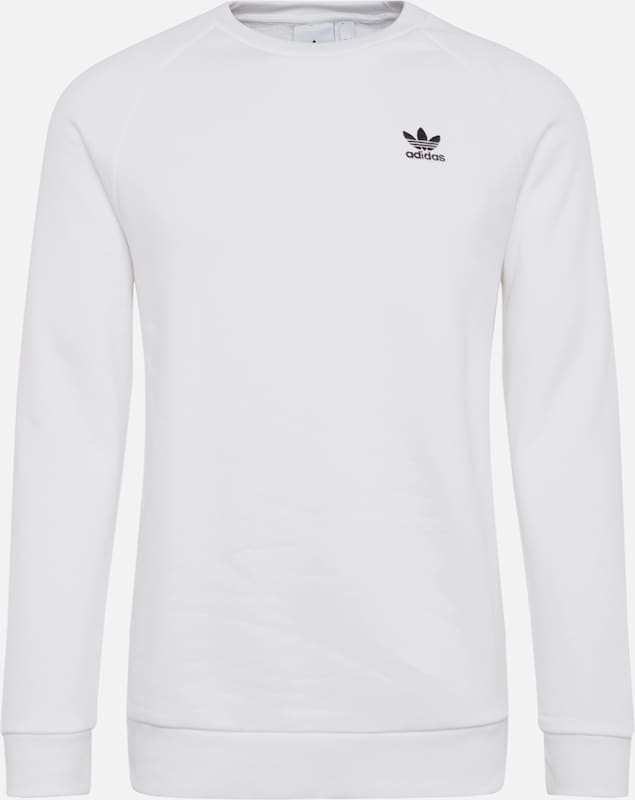 ADIDAS ORIGINALS Sweatshirt 'Essential' in weiß, Produktansicht