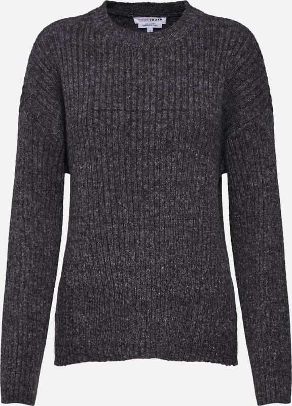 Gris 'palladium En Pull Native over Youth Knit' thrdsCQx