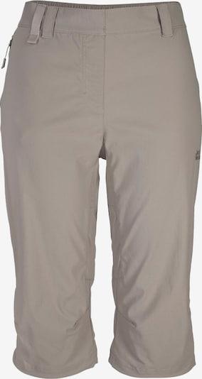 JACK WOLFSKIN Hose in dunkelbeige, Produktansicht