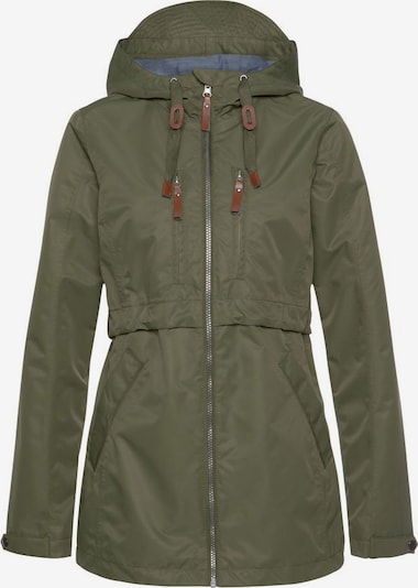 POLARINO Outdoorjacke in khaki, Produktansicht