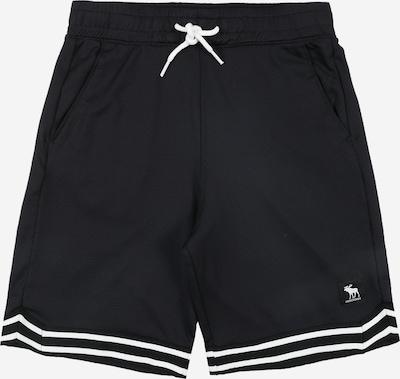 Abercrombie & Fitch Shorts in schwarz / weiß, Produktansicht