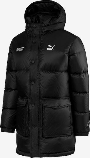 PUMA Winterjacke in schwarz / weiß, Produktansicht