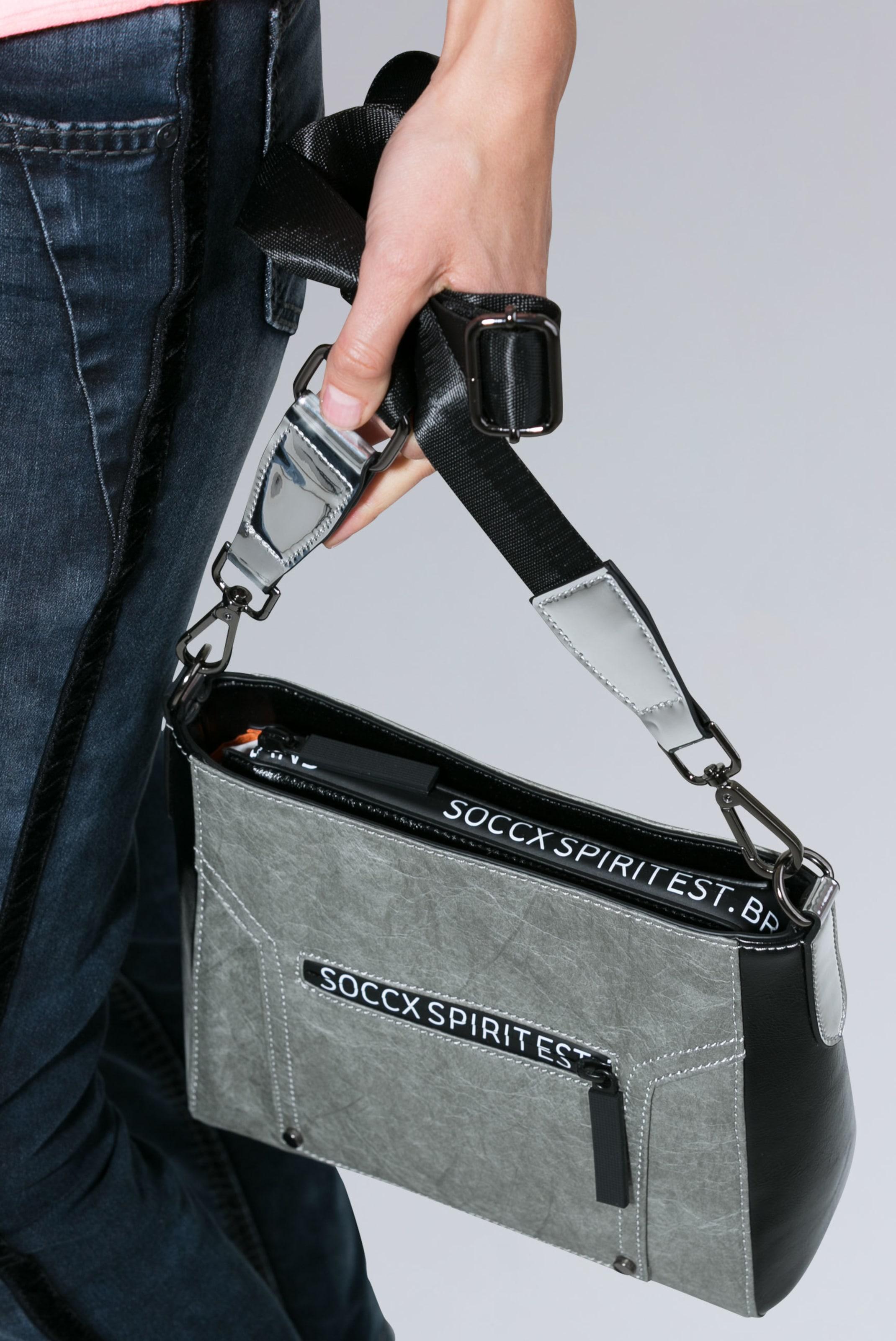 Soccx Soccx Umhängetasche Umhängetasche Grau Soccx In Soccx In Umhängetasche In Grau Umhängetasche Grau N8k0wOnXP