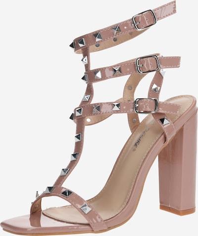 Sandale cu baretă Public Desire pe nud, Vizualizare produs