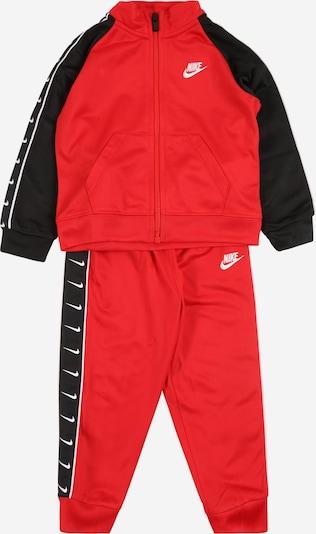 Nike Sportswear Set 'SWOOSH TRICOT TAPING SET' in rot, Produktansicht