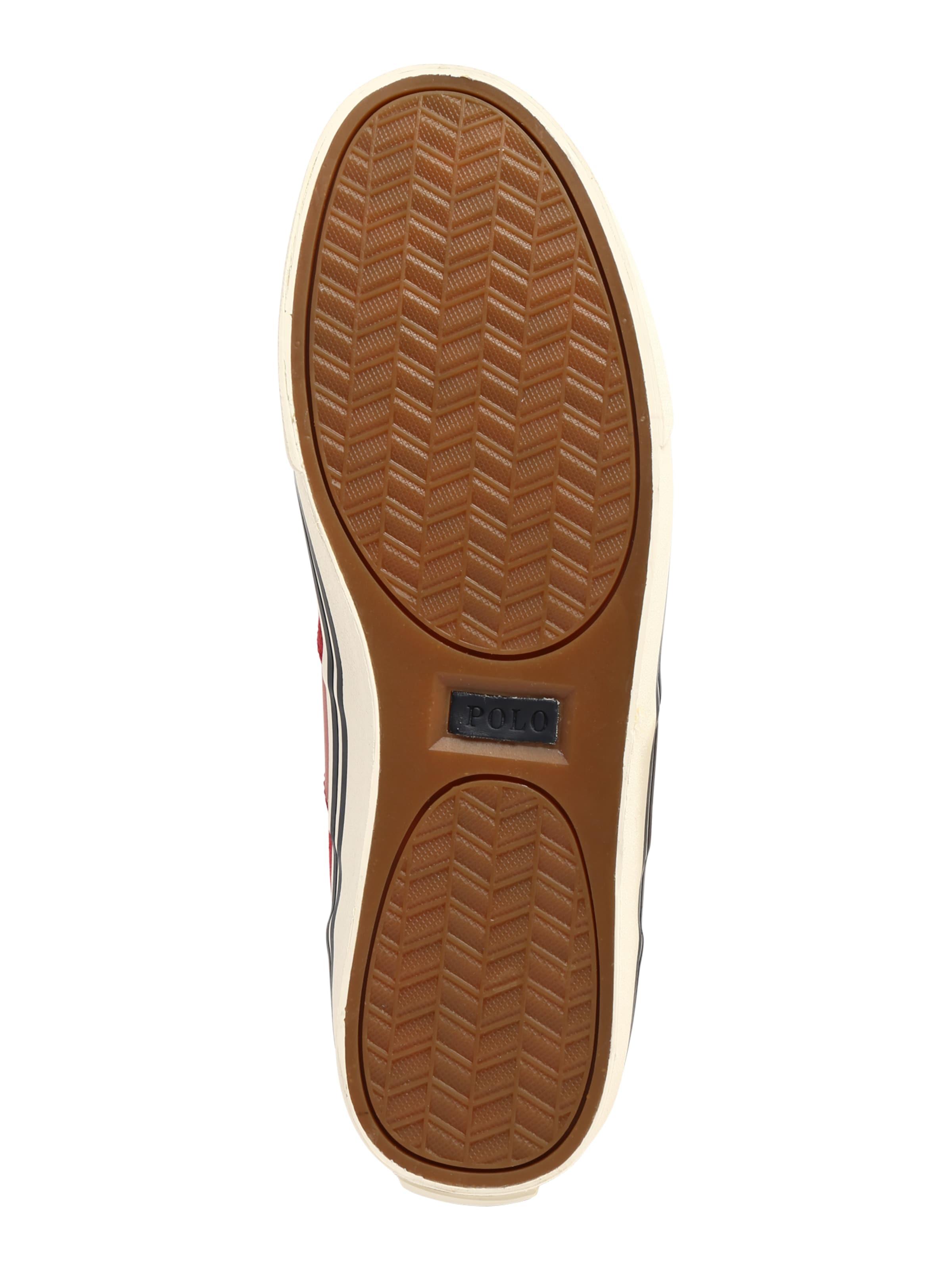 In Polo Ralph Lauren 'hanford Sneaker Sport' RotWeiß RAjLcq543
