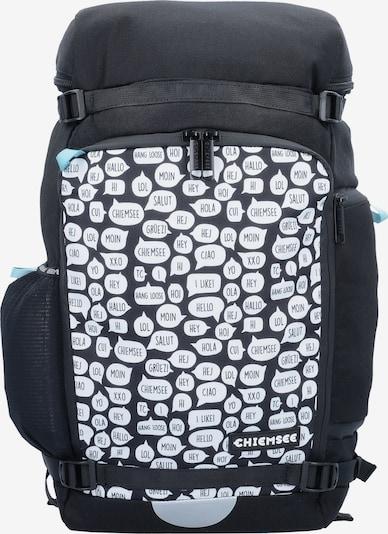 CHIEMSEE Rucksack in schwarz / weiß, Produktansicht