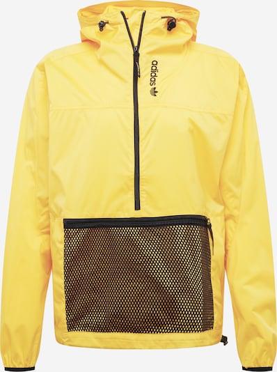 ADIDAS ORIGINALS Tussenjas 'Adventure' in de kleur Geel / Zwart, Productweergave