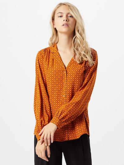 Soyaconcept Bluse 'Gigi 2' in orange, Modelansicht