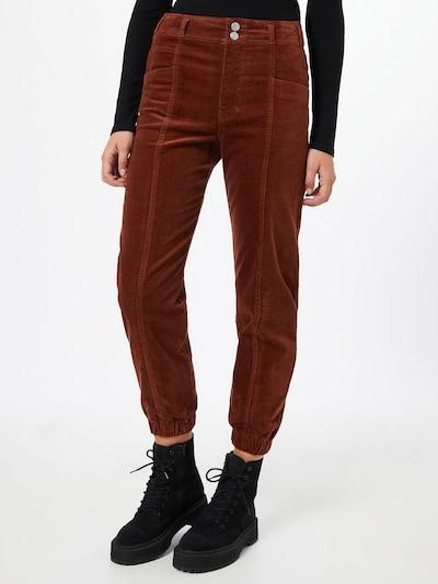ONLY Pantalon 'ZELINA-ALISA' en rouille, Vue avec modèle