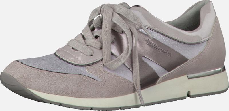 TAMARIS Sneaker im Materialmix