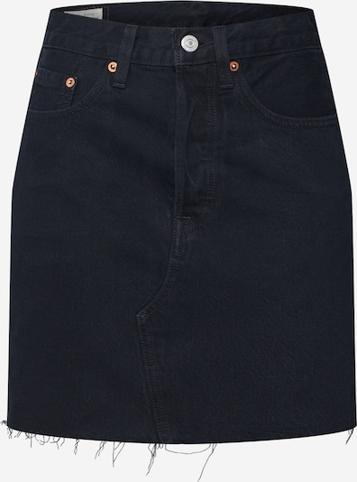 LEVI'S Rok 'HR DECON ICONIC BF SKIRT' in de kleur Zwart, Productweergave