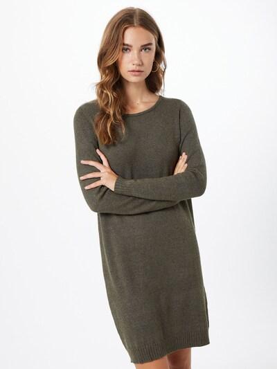 VILA Strickkleid in khaki, Modelansicht