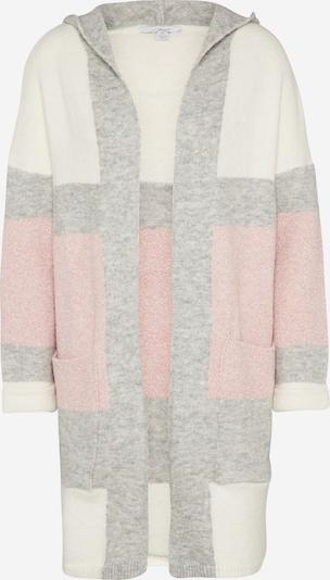 Mavi Kardigan 'STRIPE' u svijetlosiva / roza / prljavo bijela, Pregled proizvoda
