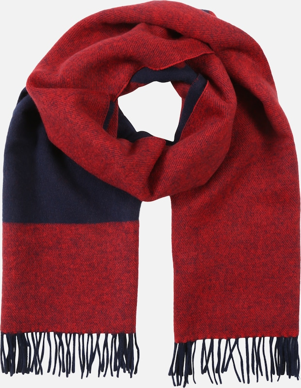 Tommy Jeans Schal 'TJW FLAG LOGO SCARF' in blau / rot, Produktansicht