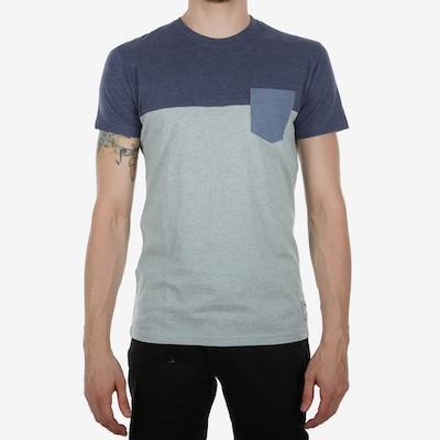 Tricou Iriedaily pe albastru porumbel / albastru deschis / albastru amestec: Privire frontală