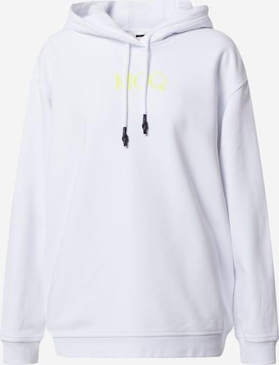McQ Alexander McQueen Sweatshirt 'BOYFRIEND HOODIE' in weiß, Produktansicht
