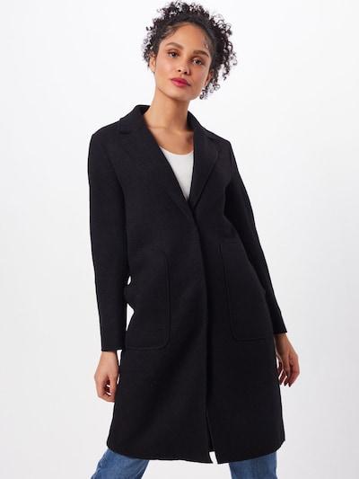 ONLY Tussenmantel 'ONLAMINA COAT' in de kleur Zwart: Vooraanzicht