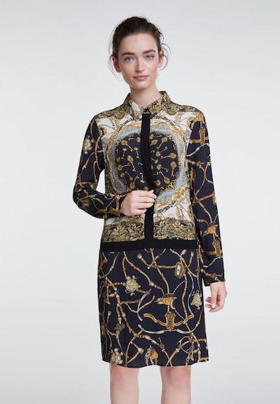 OUI Kleid in gold / mischfarben / schwarz, Modelansicht