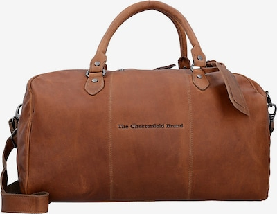 The Chesterfield Brand by Thomas Hayo Sac week-end 'Liam' en cognac, Vue avec produit