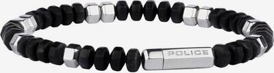 POLICE Armband 'Bryce, Pj26357bss.01-l' in schwarz / silber, Produktansicht
