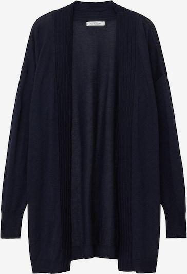 VIOLETA by Mango Gebreid vest 'Lithi' in de kleur Navy, Productweergave