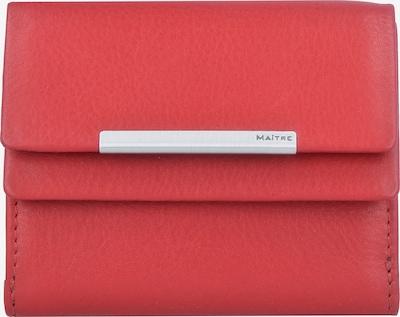Maître Portemonnee 'Belg Deda' in de kleur Rood, Productweergave
