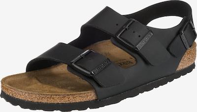 BIRKENSTOCK Sandali 'Milano S' | črna barva, Prikaz izdelka