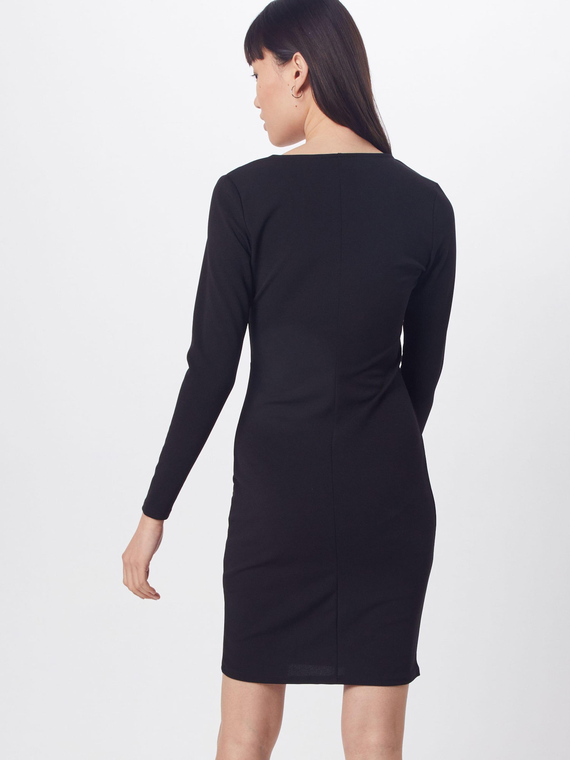 Dorothy Perkins Fodralklänning 'BUTTON DETAIL BODYCON' i svart