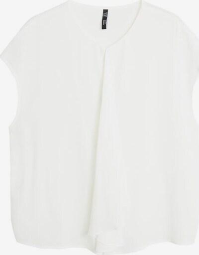 MANGO Bluse in weißmeliert, Produktansicht