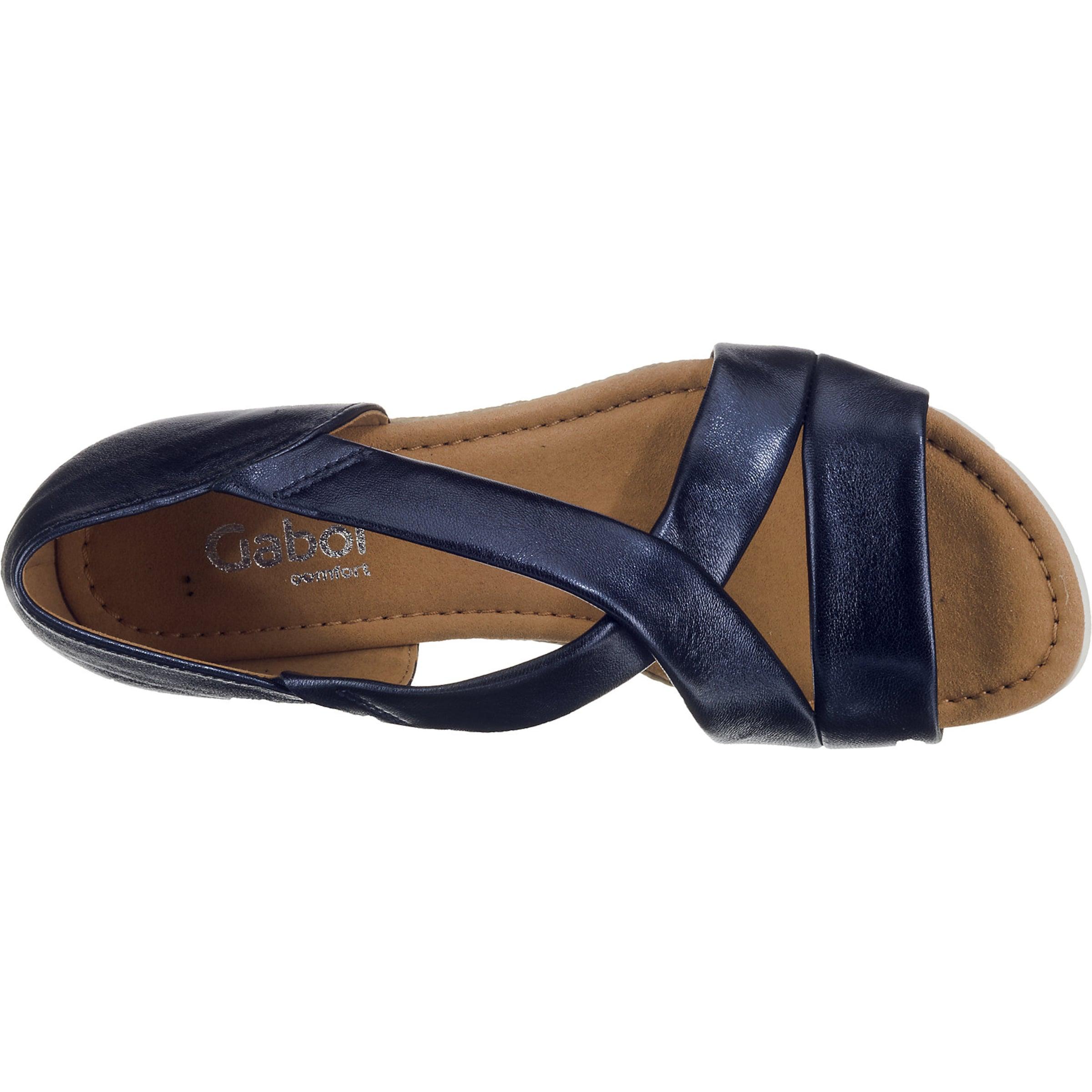 Gabor Sandaletten Weiß BeigeDunkelblau In Gabor xrCdeoBW