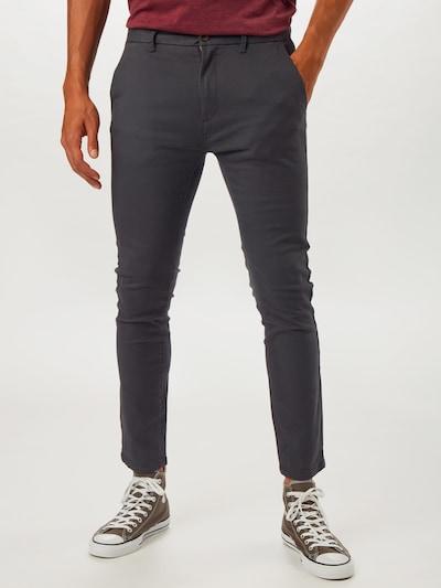 BURTON MENSWEAR LONDON Pantalon chino en noir, Vue avec modèle