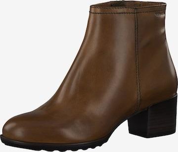 Tamaris GreenStep Ankle Boots in Brown