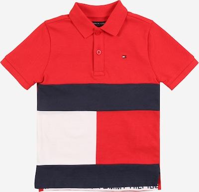 TOMMY HILFIGER Shirt in marine / weinrot, Produktansicht