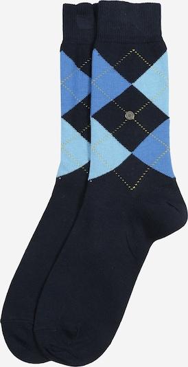 BURLINGTON Sokken 'Queen Sock' in de kleur Lichtblauw / Donkerblauw, Productweergave