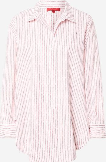 HUGO Bluza 'Exelia' | rdeča / bela barva, Prikaz izdelka
