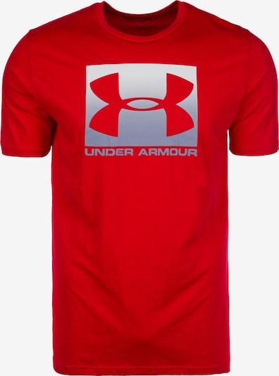 UNDER ARMOUR Sportshirt in grau / rot / weiß, Produktansicht