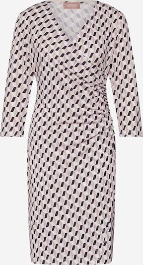 Cartoon Kleid in creme / rosé / schwarz, Produktansicht