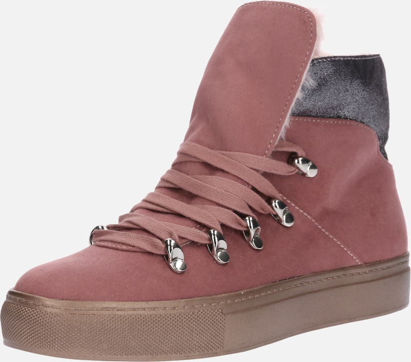 À En Lacets Rose Bottines 'jonna' zVGqUMpSL