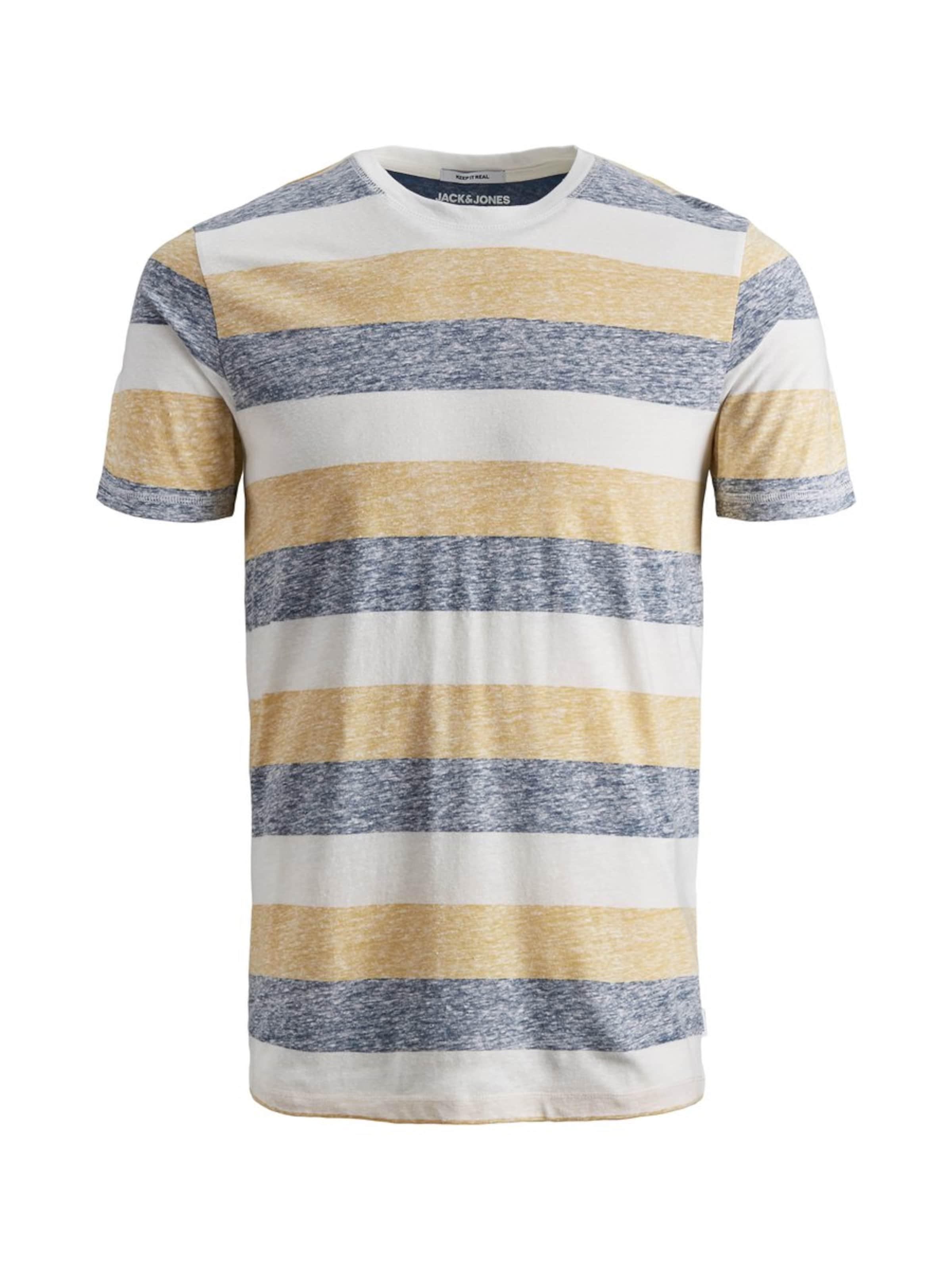 Jones Jackamp; T shirt En JauneGris nwk0OP